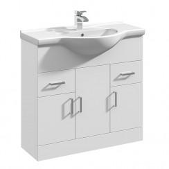 Mayford 850mm Floor Standing Cabinet & Basin 1