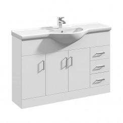 Mayford 1200mm Floor Standing Cabinet & Basin 1