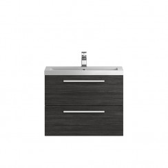 Quartet Hacienda Black 720mm Cabinet & Basin