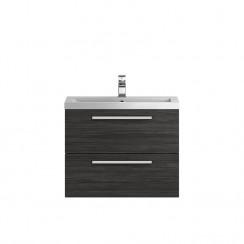 Quartet Hacienda Black 720mm Cabinet & Basin