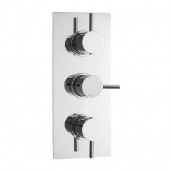 Quest Triple Thermostatic Concealed Shower Valve