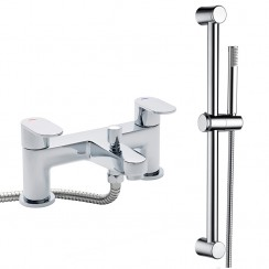 Ratio Bath Shower Mixer Tap & Rail Kit