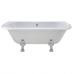 Kenton Back To Wall Freestanding Bath - Pride Leg Set (1700mm)