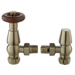 Camden Angled Thermostatic Valve