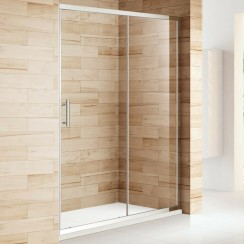 1100mm Shower Enclosure Single Sliding Door