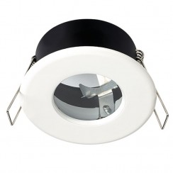 White Shower Bathroom Light Fitting