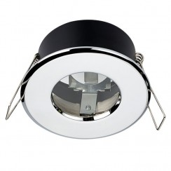Chrome Shower Bathroom Light Fitting