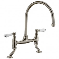 Series Sixteen Kitchen Tap, Brushed Steel