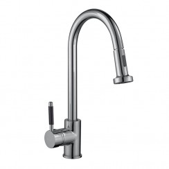 Series Twenty Two Kitchen Tap, Brushed Steel