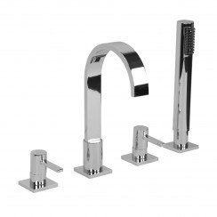 Nassau 4 Hole Bath Shower Mixer Tap