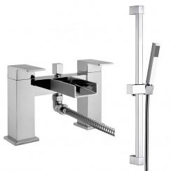 Shorditch Bath Shower Mixer Tap & Rail Kit