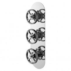 Industrial Triple Concealed Shower Valve With Diverter