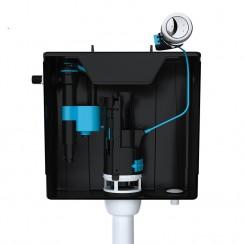 Skylo Concealed Toilet Cistern (Black)
