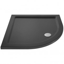 Quadrant Shower Tray 700mm x 700mm - Slate Grey
