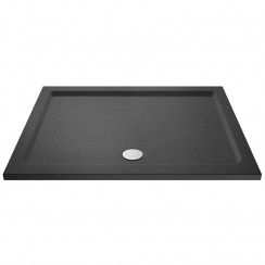 Rectangular Shower Tray 1400mm x 800mm - Slate Grey