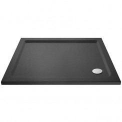 Rectangular Shower Tray 900mm x 760mm - Slate Grey