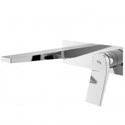 Soar Wall Mounted Single Lever Basin Mixer Tap