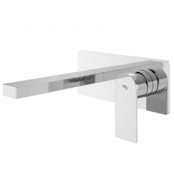 Sottile Wall Mounted Single Lever Basin Mixer or Bath Filler Tap