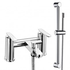 Solace Bath Shower Mixer Tap & Rail Kit