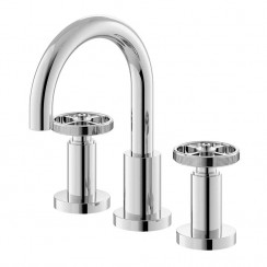 Revolution 3 Tap Hole Basin Mixer Tap