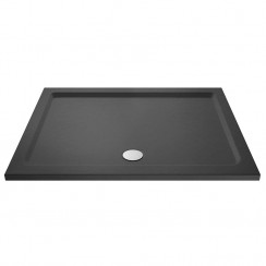 Hudson Reed Rectangular Shower Tray 1400mm x 900mm - Slate Grey