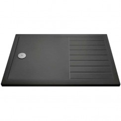 Rectangular Walk-In Shower Tray 1600mm x 800mm - Slate Grey