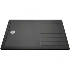 Rectangular Walk-In Shower Tray 1700mm x 700mm - Slate Grey