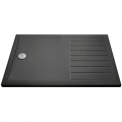 Rectangular Walk-In Shower Tray 1700mm x 800mm - Slate Grey