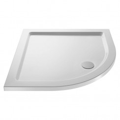 Pearlstone Quadrant Shower Tray 1000 X 1000 Stone - 40mm Low Profile