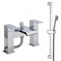 Tribeca Bath Shower Mixer Tap & Rail Kit