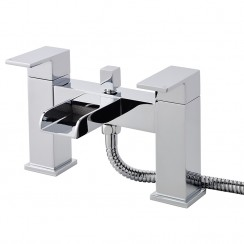 Strike Open Spout Bath Shower Mixer Tap