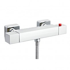 ABS Square Thermostatic Shower Bar Valve Shower