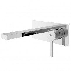 Willow Wall Mounted Single Lever Basin Mixer or Bath Filler Tap