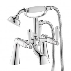 Windsor Bath Shower Mixer Tap Straight Leg