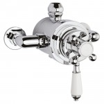 Victorian Dual Thermostatic Exposed Shower Valve
