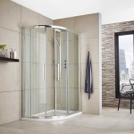 Apex 1000mm x 800mm Offset Quadrant Shower Enclosure
