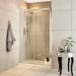 Apex 1400mm Shower Enclosure Sliding Door