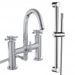 Mayfair Bath Shower Mixer Tap B & Rail Kit
