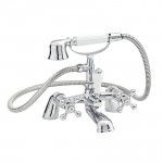 Belmont Bath Shower Mixer Tap, Small Handset