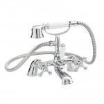 Belmont Bath Shower Mixer Tap, Small Handset