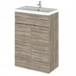 Hudson Reed - Driftwood 600mm Combination Vanity Unit & Basin - Full Depth