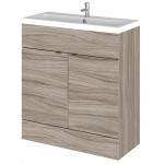 Hudson Reed - Driftwood 800mm Combination Vanity Unit & Basin - Full Depth