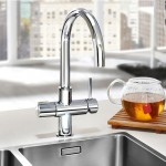 Chrome Soho 3 in 1 Instant Hot Water Kitchen Tap & Filter