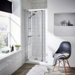 Ella 900mm Shower Enclosure Bi-Fold Door