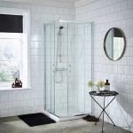 Ella 760mm Corner Entry Shower Enclosure
