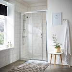 Ella 1200mm Shower Enclosure Sliding Door