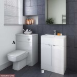 Hudson Reed Gloss White Combination Furniture Standalone Units Suite