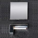 Chrome Square 50 x 23mm Handle