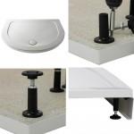 Easy Plumb Shower Tray Leg Set & Plinth (D-Shape)