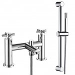 Mayfair Bath Shower Mixer Tap & Rail Kit